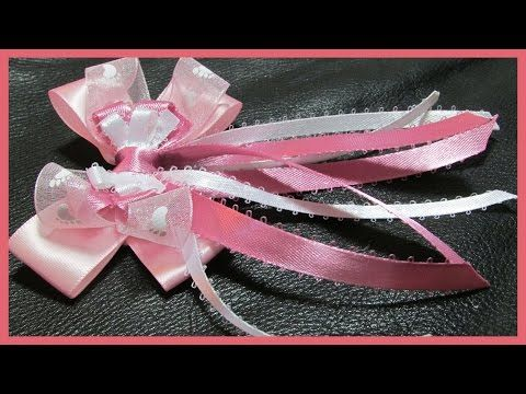 YouTube Video for long tail hairbow