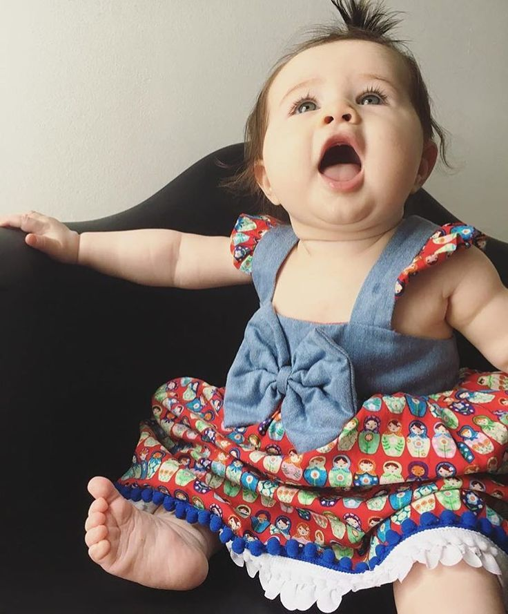 Lovely princess Annie  with Matrioskas dress