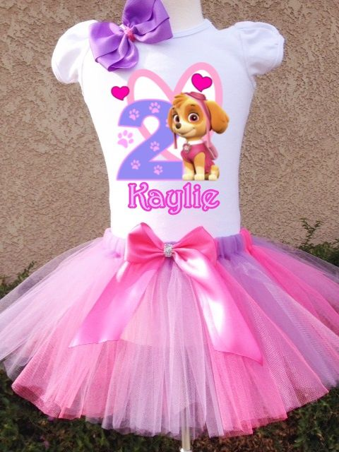 Skye Paw Patrol Birthday Tutu Outfit-skye, skye shirt, skye tutu, skye birthday tutu, skye paw patrol, skye paw patrol shirt, skye paw patrol birthday tutu, paw patrol birthday, paw patrol shirt, paw patrol tutu, paw patrol outfit, paw patrol birthday, paw patrol party, girls custom birthday shirt, first birthday outfit, birthday tutu