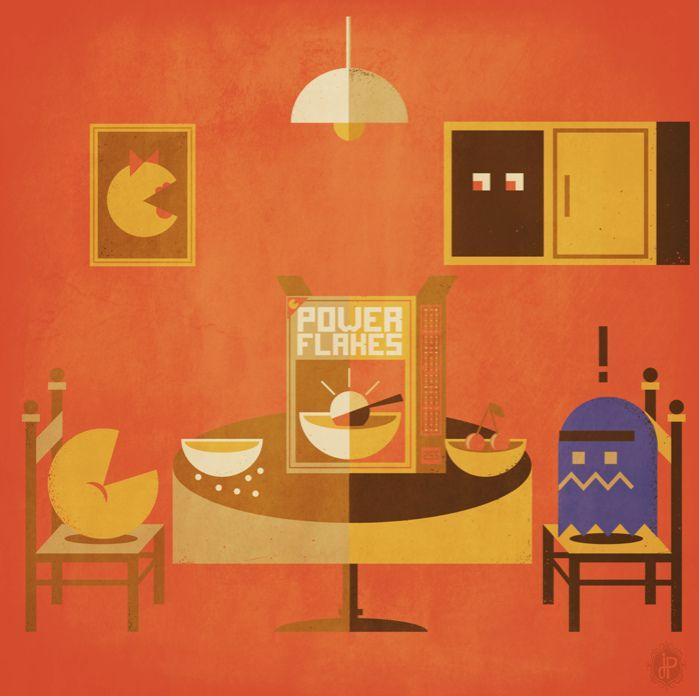"https://flic.kr/p/agsgFS   Pac-Man's Meal   PIeza realizada para el show ""8-Bit Champions"" presentado por The Autumn Society, !5 de Sept. 2011 @ La Flaq Gallery, Francia."