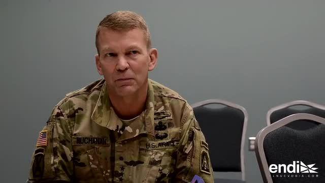 El comandante de las fuerzas militares en Puerto Rico explica su plan de trabajo via El Nuevo Día