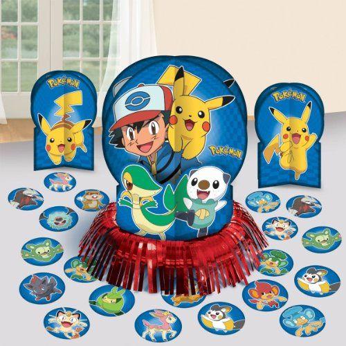 Save on pokemon birthday table decorating kit party