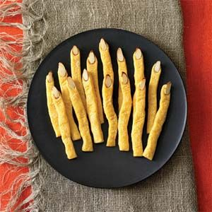 Cheddar Witch's Fingers | MyRecipes.com