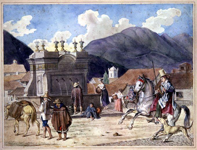 Noche sangrienta en San Victorino: asesinato de un consul Norteamericano en Bogotá, 1826   banrepcultural.org