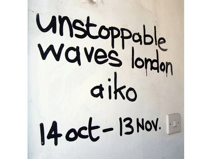 Unstoppable Waves Solo Exhibition, 2011