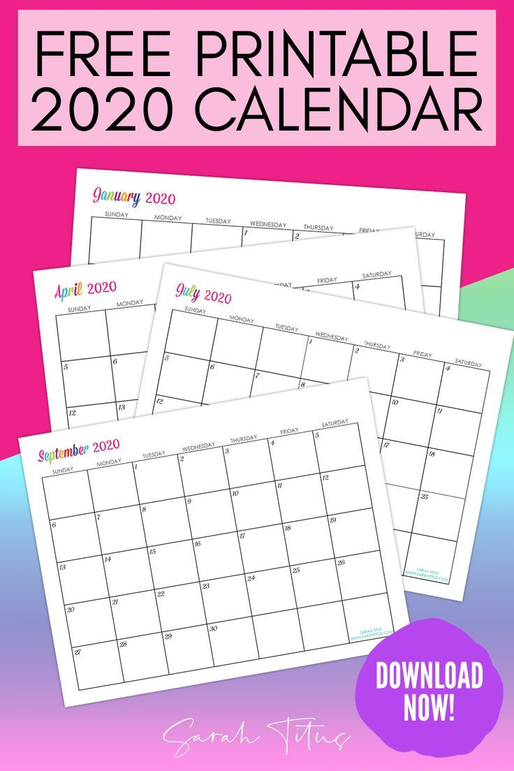 editable free calendar