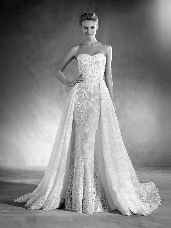 Kolekcja Sukni Ślubnych Atelier Pronovias 2016. Hiszpańskie suknie ślubne dostępne w salonie ślubnym Młoda i Moda w Warszawie.