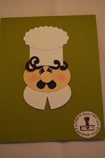 Tracy's Card Closet: punch art critters