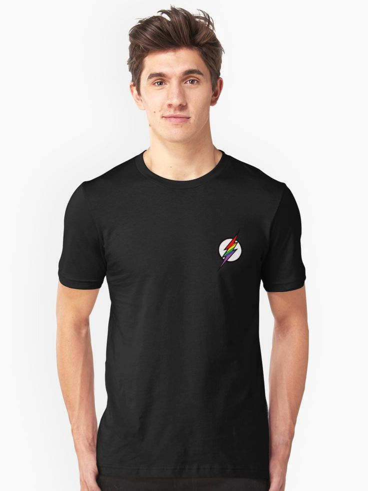 The popular superhero's, the FLASH'S logo with the colours of the #pride flag. • Also buy this artwork on apparel, stickers, phone cases, and more.