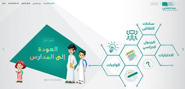 منصة مدرستي السعودية للتعليم عن بعد مميزاتها وخدماتها وأدواتها بالعربي نتعلم Pie Chart Chart