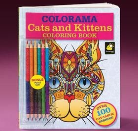 ColoramaTM Cats Kittens Set Available At Harriet Carter Color Your Cares Away With And Browse Our Other Books Products To