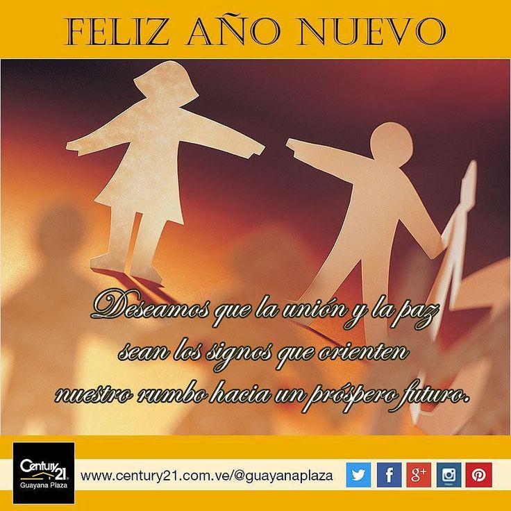 #Century21 Guayana Plaza te desea un #Feliz2016 y que lo más importante sean los valores y principios para alcanzar un futuro brillante