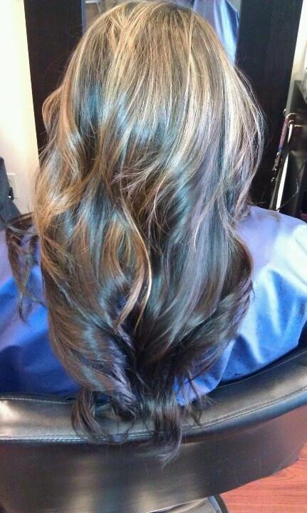 Partial Highlights : Partial highlights Hair Pinterest