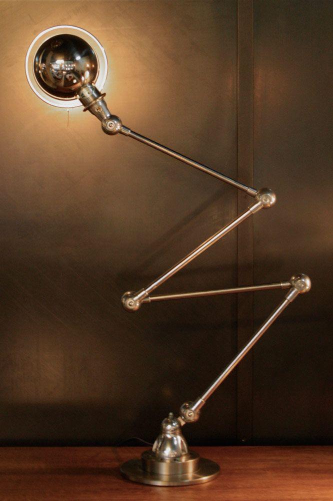 Ancienne Lampe Jielde Incontournable Luminaire Du Parc Industriel