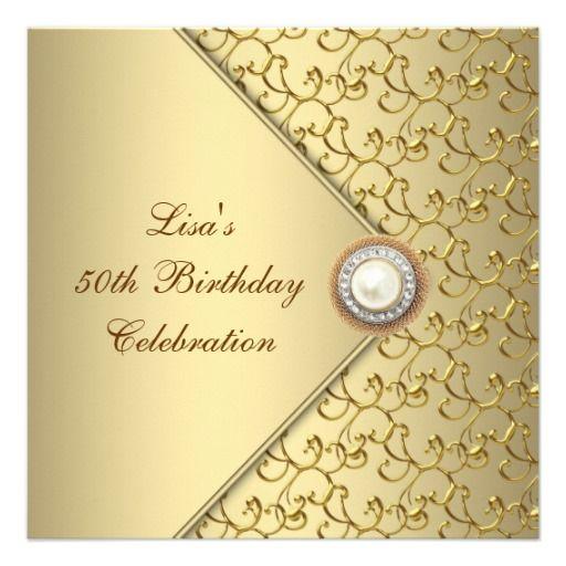 Best Birthday Years Images On Pinterest - Birthday invitation zazzle