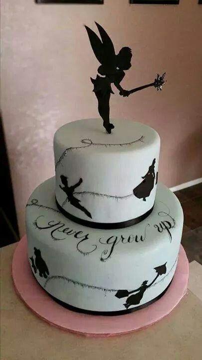 Disney Peter Pan Never Grow Up cake...