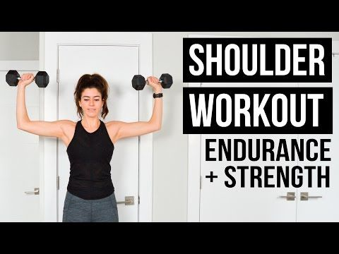 Shoulder Workout: Endurance Burnout + Strength Exercises | Pumps & Iron