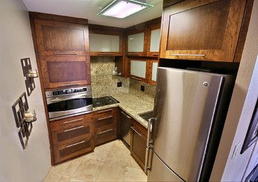 Small Kitchen Design Ideas, Pictures, Remodel, and Decor - page 9  I don't want anything dark in kitchen, this makes me clostrophobic