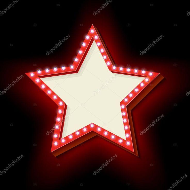 Baixar - Seta vermelha vintage com luzes brilhantes — Ilustração de Stock #100542348