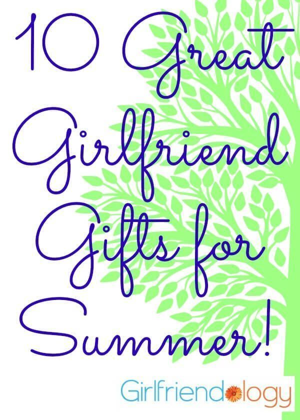 Great Girlfriend Gifts for Summer #girlfriendbirthday #girlfriendgift