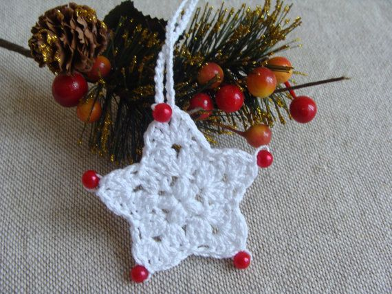 Christmas Star Pattern, Crochet Christmas Star, Christmas Decoration, Christmas Ornament, Christmas Home Decor, Christmas Tree Decor
