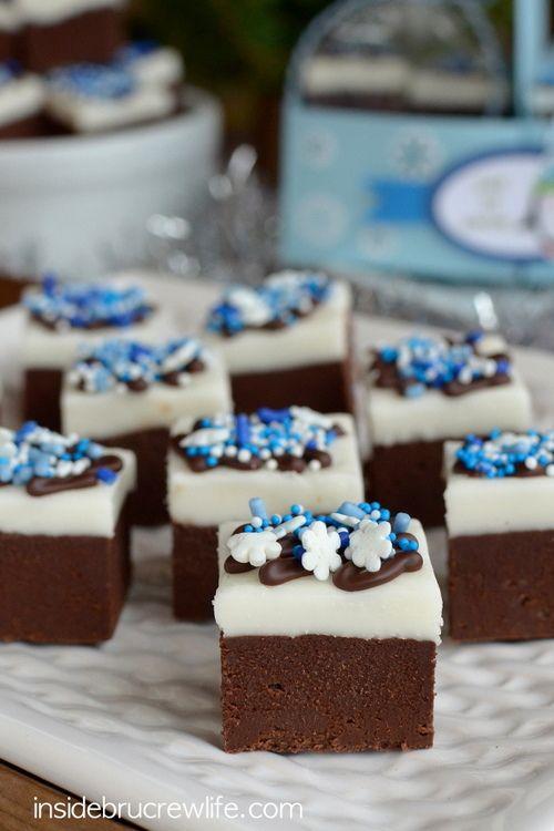 Chocolate Peppermint Fudge from www.insidebrucrewlife.com - easy 3 ...