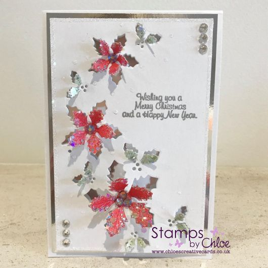 Stamps by Chloe Clear Stamp Set - Holly Flower Arch