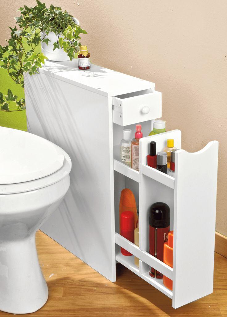 Le 25 migliori idee su salvaspazio bagno su pinterest organizzazione di un piccolo - Mobiletto salvaspazio bagno ...
