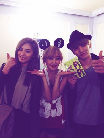 91' liners: nana(after school), nicole(kara), key(SHINee)