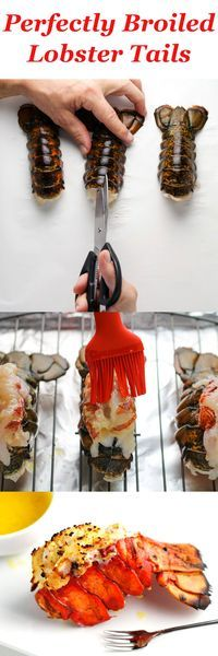 Perfectly Broiled Lobster Tails, this is so easy and takes less than 10 minutes! | http://Tastefulventure.com
