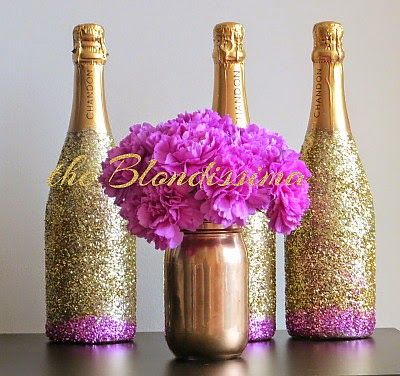1000 images about diy projects on pinterest storage for How to make glitter wine bottles