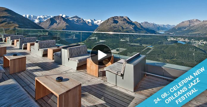 The Romantik Hotel Muottas Muragl is situated on one of the most beautiful vantage points in the Engadin St. Moritz region