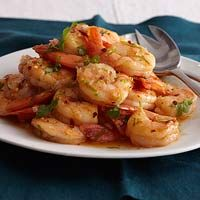 1 pound medium shrimp, patted dry  4 tablespoons butter  1/4 cup chopped shallots  1/4 cup lime juice, plus 1 tsp. grated zest  1/4 teaspoon crushed red pepper  1/3 cup chopped cilantro