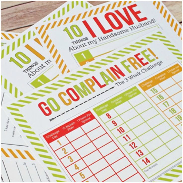 Remove nagging and negativity from your marriage by taking this Couples Challenge: A Complaint Free Marriage!