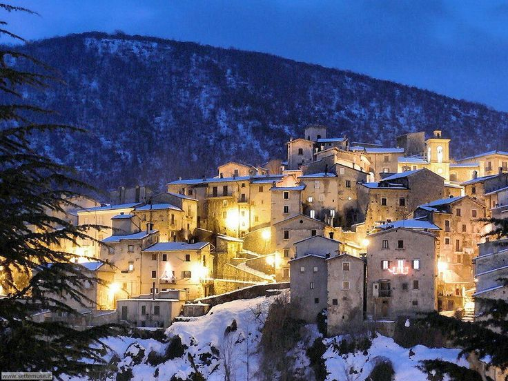 Scanno is very popular among couples looking for a romantic retreat because it is very warm and friendly.