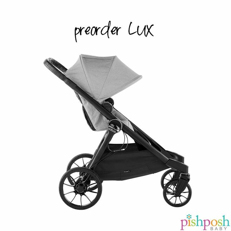 You can now pre-order the @babyjogger City Select LUX stroller! Features major upgrades like dual handbrake settings, new premium fabrics, a 30% smaller fold, all-wheel suspension, and awesome add-on accessories! Available in 5 gorgeous colors - priced at $629.99. Arriving May 2017.  http://www.pishposhbaby.com/baby-jogger-city-select-lux-stroller.html