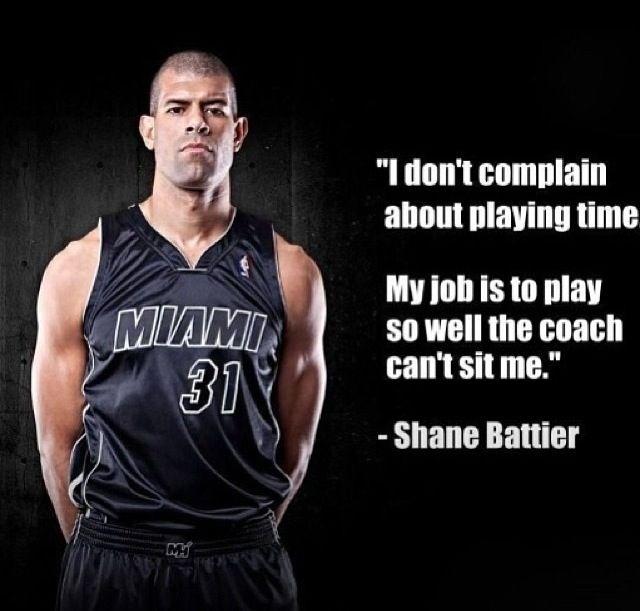 Earn you Playing Time - Shane Battier