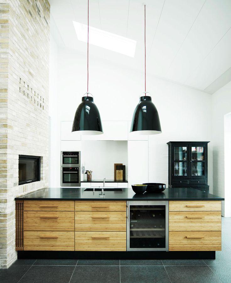 Et gammelt slagteri indretning - Køkkenskaberne