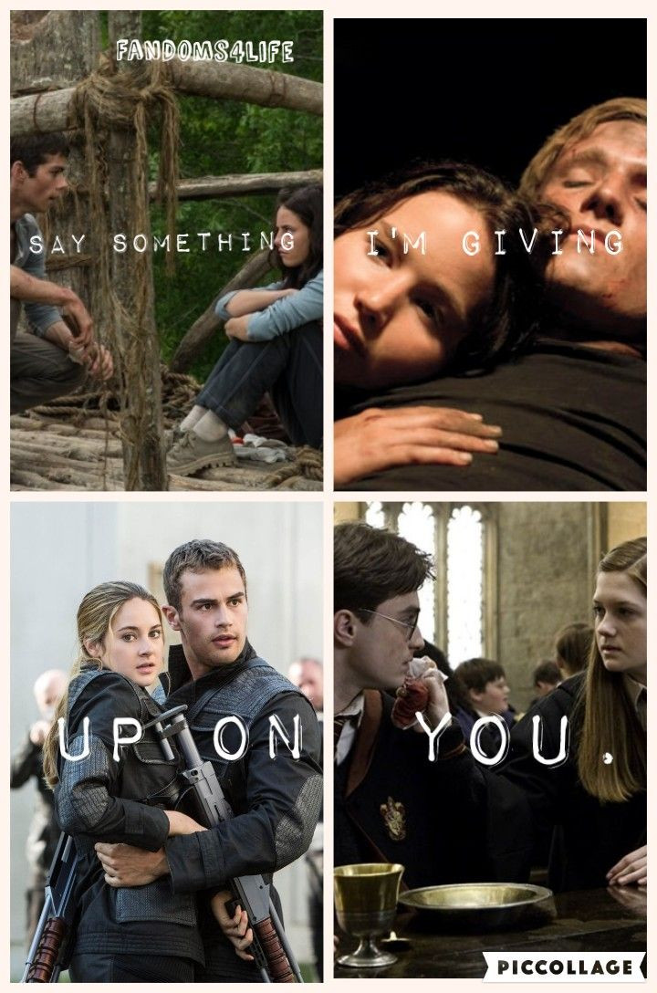 The Maze Runner, The Hunger Games, Divergent and Harry Potter.