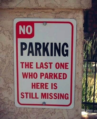 This made us laugh! #roadsign #lol #funny