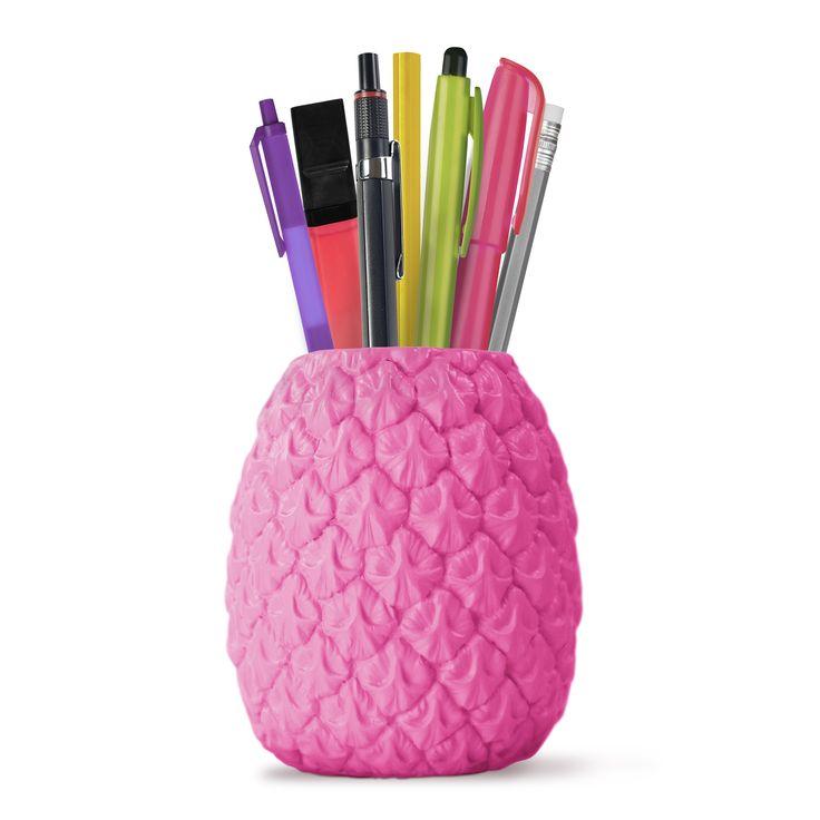 Seriously Tropical Penpot - Bright Pink - from Vunk #penpot #pineapplepenpot #stationary