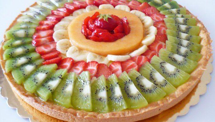 Crostata di frutta fresca (senza burro)