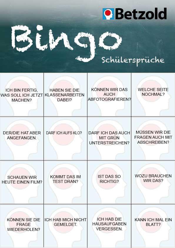 Student sets bingo