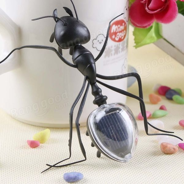 Educational Solar powered Ant Energy-saving Model Toy Children Teaching Fun Insect Toy Gift Sale - Banggood.com