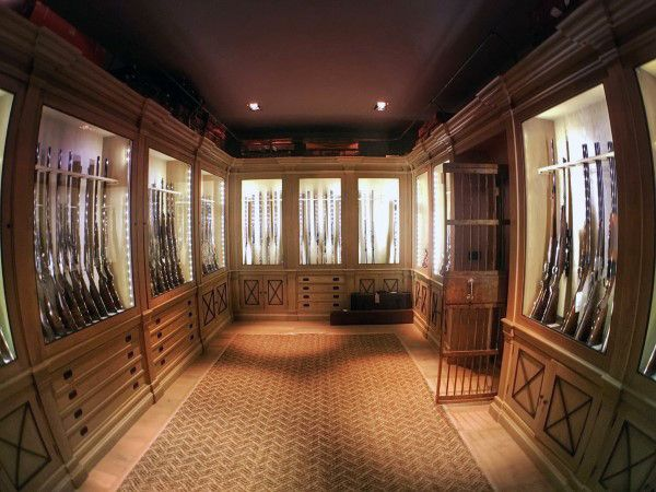 Top 100 Best Gun Room Designs Armories You Ll Want