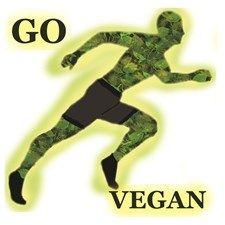 Go Vegan (male runner)