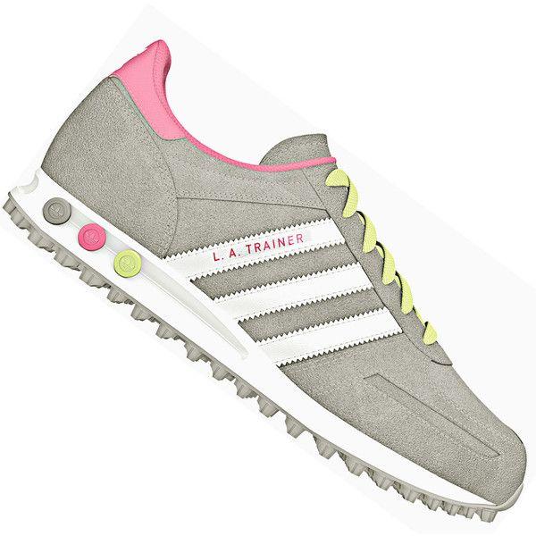 Adidas La Trainer White Leather