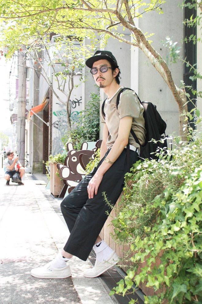 ストリートスナップ大阪 - FKさん | Fashionsnap.com