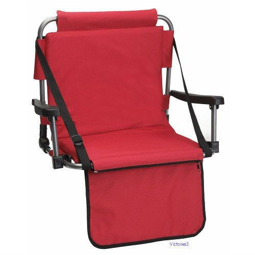 Stadium Chair Seat Garden Outdoor Sporting Events Lawn Foldable Portable | Sporting Goods, Outdoor Sports, Other Outdoor Sports | eBay!