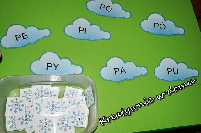 nauka czytania sylabami, metoda krakowska